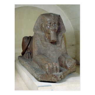 Large sphinx, from Tanis Postcard