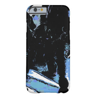 Large spider on metal surface barely there iPhone 6 case