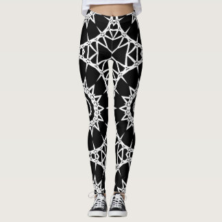 Large Spiked Wheels (Any Color) Leggings