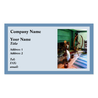 Large Spinning Wheel Business Cards