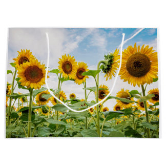 Large Sunflower Gift Bag