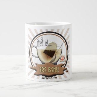 Large Tea is Srs Bsns Mug Jumbo Mug
