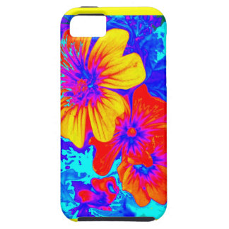 Large Tropical Flowers by Sharles iPhone 5 Cases