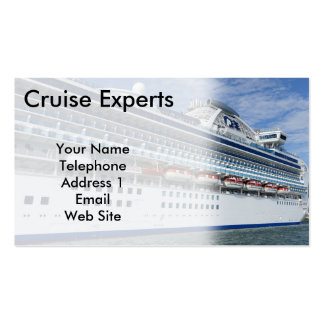 Large Vacation Cruise Ship Pack Of Standard Business Cards