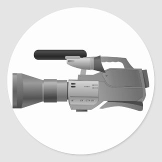Large Video Camera Stickers