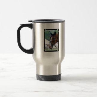Large Warmblood Horse Travel Mug