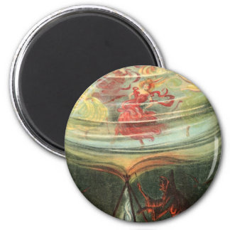 Large Witches Whirl Waltzes Magnets