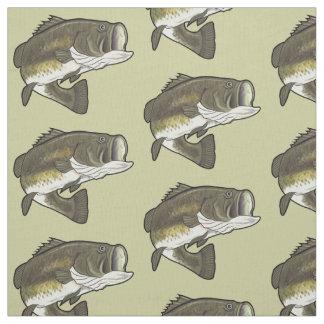 Largemouth Bass Fabric