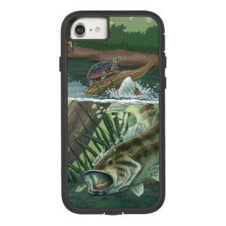Largemouth Bass Fishing Case-Mate Tough Extreme iPhone 8/7 Case