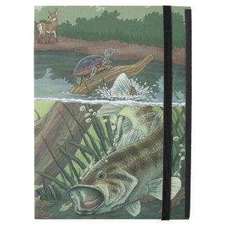 """Largemouth Bass Fishing iPad Pro 12.9"""" Case"""