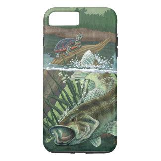 Largemouth Bass Fishing iPhone 8 Plus/7 Plus Case