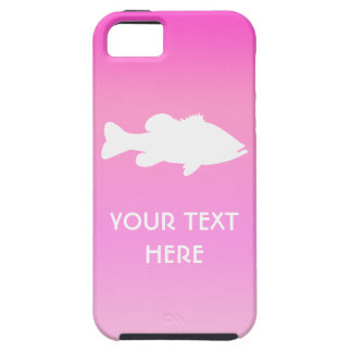Largemouth Bass Fishing template iPhone 5 Case