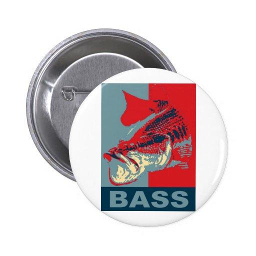 Largemouth Bass Iconized Pins