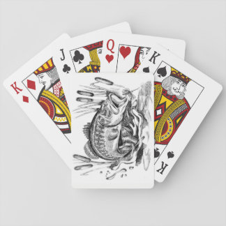 Largemouth Bass Playing Cards