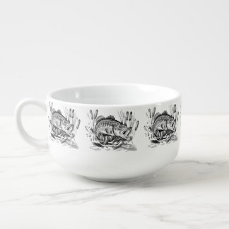 Largemouth Bass Soup Mug