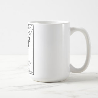 Larger classic white mug- Piedmont Highland Dance Coffee Mug