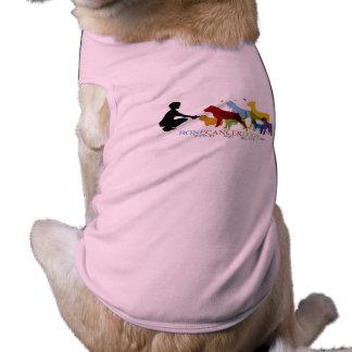 Larger Dog Muscle Tee - Color Logo Sleeveless Dog Shirt