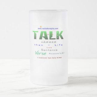 larger - glass mugs