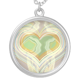 Larger than life Heart Personalized Necklace