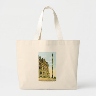Largest Totem Pole in the World, Tacoma,Washington Jumbo Tote Bag