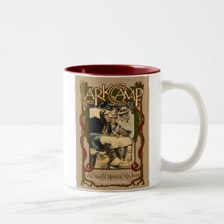 Lark Camp Musical Mayhem Two-Tone Coffee Mug