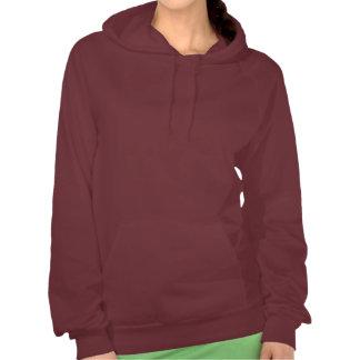 Larken's girl ladies hoodie, warm brown