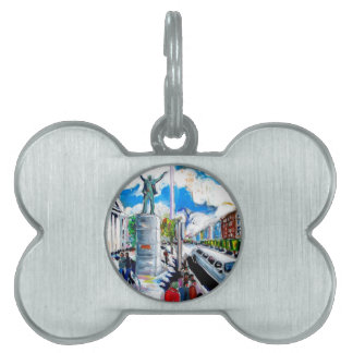 larkin monument oconnell street dublin pet name tag