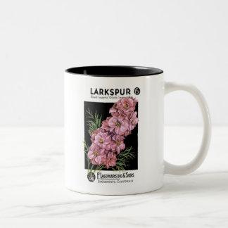 Larkspur, F. Lagomarsino & Sons Two-Tone Mug