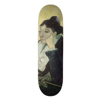 L'Arlesienne Madame Ginoux by Vincent Van Gogh 21.6 Cm Skateboard Deck