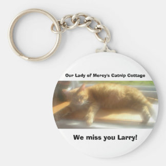 Larry Angel Basic Round Button Key Ring