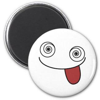 Larry Hypnotique 6 Cm Round Magnet