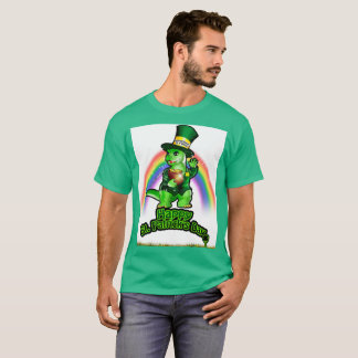 Larry the Lizard: A Leprechaun in Train(White) T-Shirt