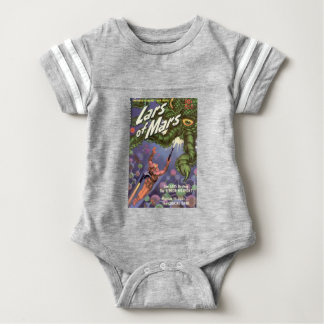 Lars of Mars and the Bug-eyed Tentacle Monster Baby Bodysuit