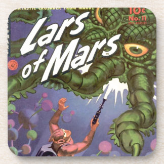 Lars of Mars and the Bug-eyed Tentacle Monster Beverage Coasters