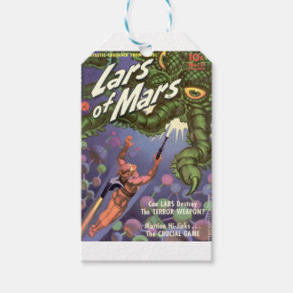 Lars of Mars and the Bug-eyed Tentacle Monster Gift Tags