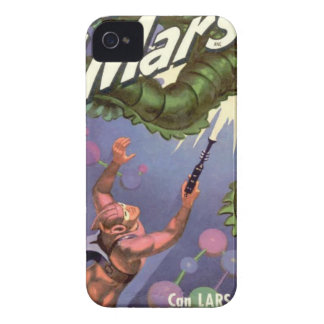 Lars of Mars and the Bug-eyed Tentacle Monster iPhone 4 Case-Mate Case