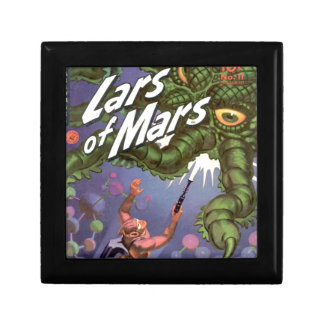 Lars of Mars and the Bug-eyed Tentacle Monster Small Square Gift Box