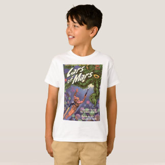 Lars of Mars and the Bug Eyed Tentacle Monster T-Shirt