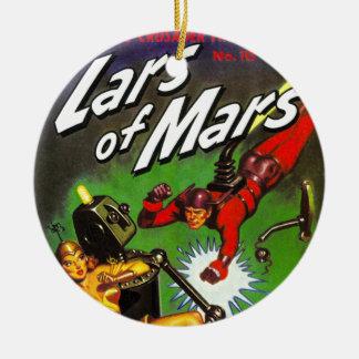 Lars of Mars Round Ceramic Decoration