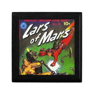 Lars of Mars Small Square Gift Box