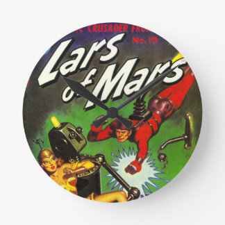 Lars of Mars Wall Clock