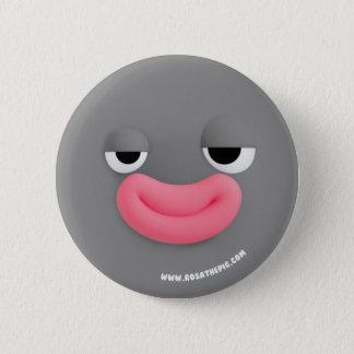 Lars smiling 6 cm round badge