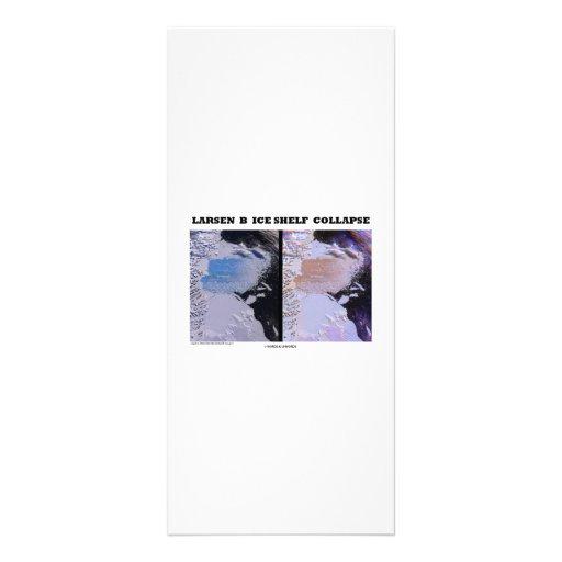 Larsen B Ice Shelf Collapse (Picture Earth) Customized Rack Card