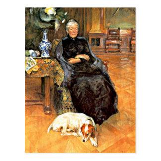 Larsson: Portrait of Gothilda Furstenberg Postcard