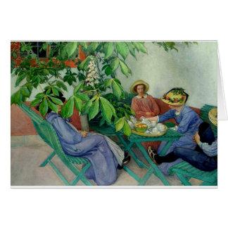 Larsson - Under the Chestnut Tree Card