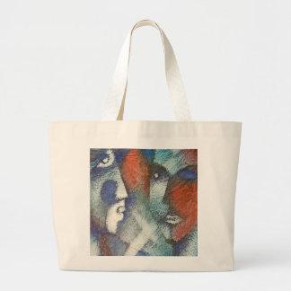 Las Caras Large Tote Bag