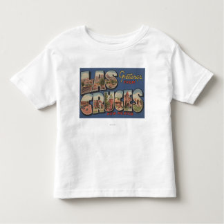 Las Cruces, New Mexico - Large Letter Scenes Toddler T-Shirt