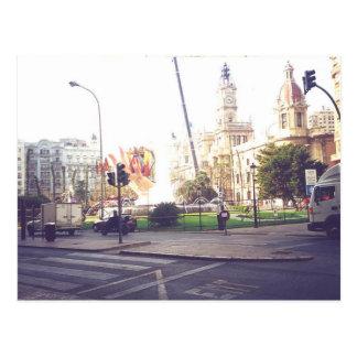 Las Fallas De Valencia Spain Postcard
