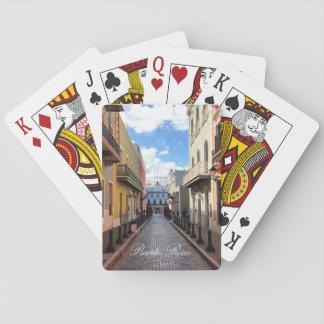 Las Fortaleza - Old San Juan, Puerto Rico Poker Deck