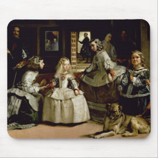 Las Meninas detail of the lower half depicting Mouse Pad